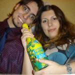 Мы с детским шампанским